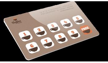 Card semplice a 4 colori