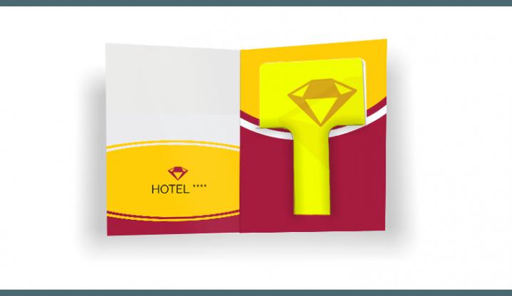 "Portacard ""Local"" + Tessere per Hotel"