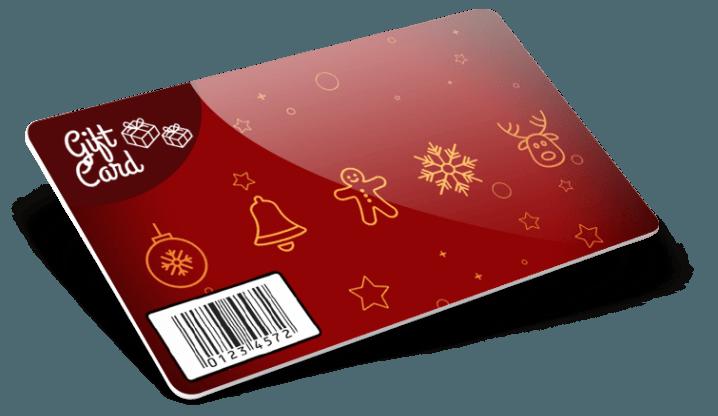 Gift Card con codice a barre