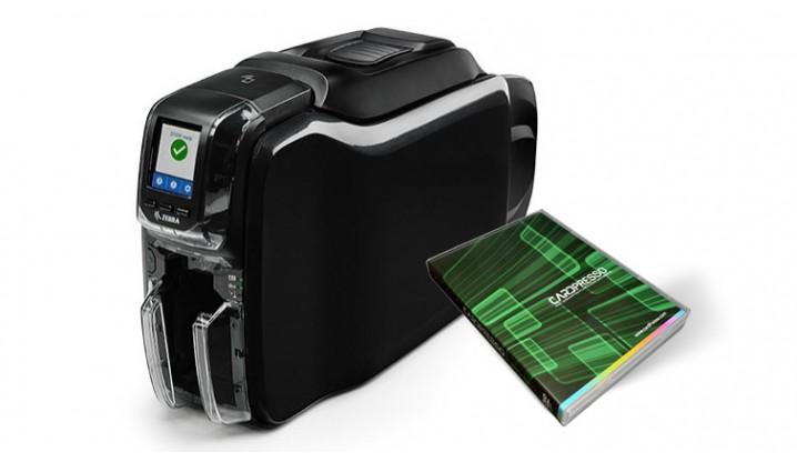Stampante Zebra Serie ZC300 + Cardpresso