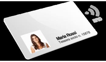 Tessere con RFID con Numerazione + Nomi e Cognomi + Foto