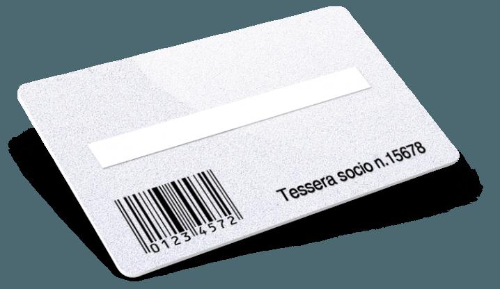 Codice a barre + Numerazione + Campo firma + Glitter
