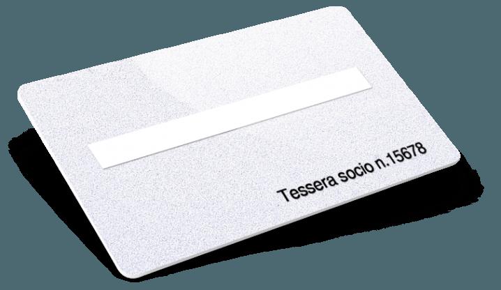 Cards con Numerazione + Campo firma + Glitter