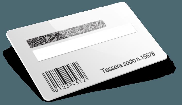 Codice a barre + Numerazione + Campo firma + Scratch off