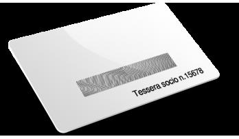 Card plastiche Numerazione e Scratch off