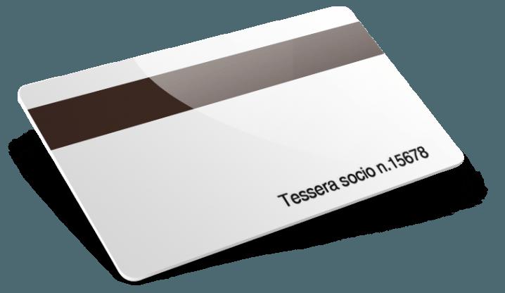 Card plastiche con Banda Magnetica e Numerazione