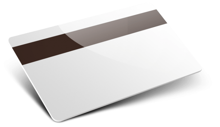 Card Banda Magnetica semplice