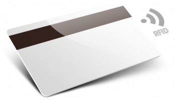Card plastica con RFID con Banda Magnetica