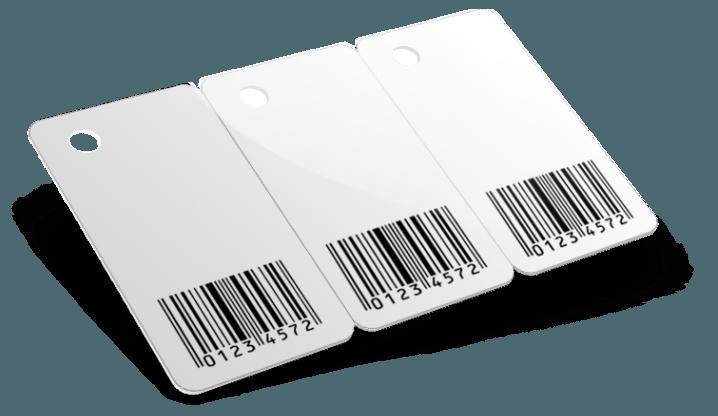 Tricard con codice a barre