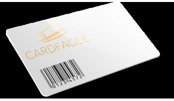 Card plastiche con Codice a barre e Termografia
