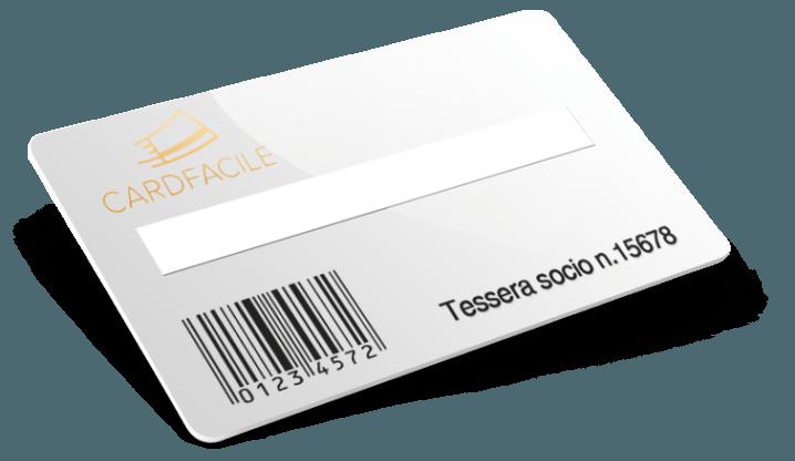Tessere con Codice a barre + Numerazione + Campo firma + Termografia
