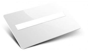 Card in plastica campo firma semplice