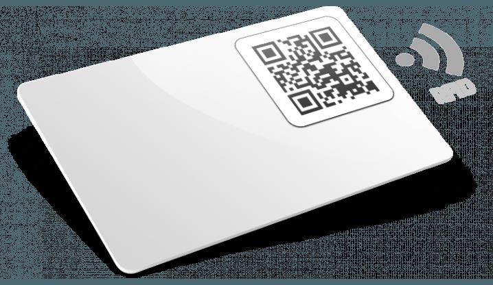 Tessere in plastica con RFID e QR Code