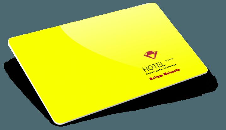 Cartes RFID pour hôtels