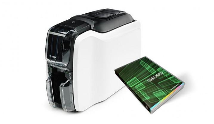 Stampante Zebra Serie ZXP1 + Cardpresso + 100 tessere CardFacile
