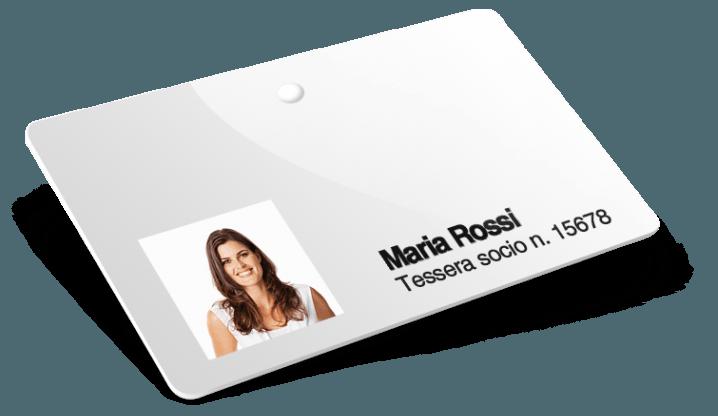 Cartes plastiques avec Numérotation et Noms et Photos et Trou