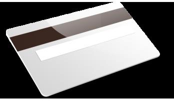 Bande magnetique + Blanc d'écriture