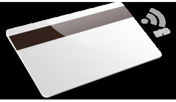 Cartes avec RFID et bande magnétique