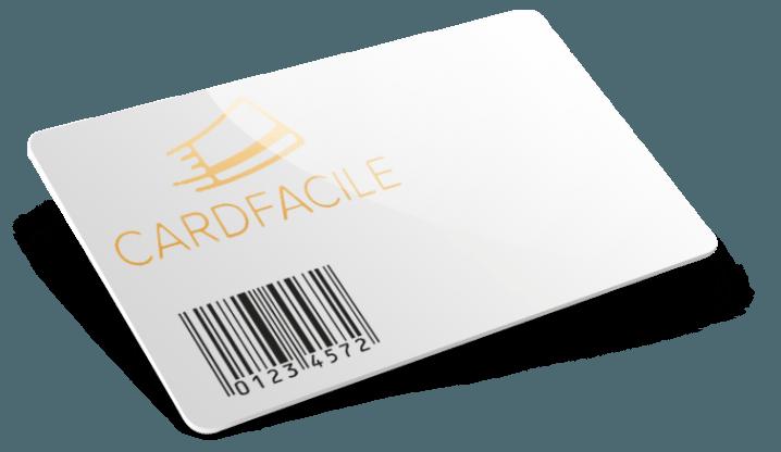 Cartes plastique avec Thermographie + Code barres
