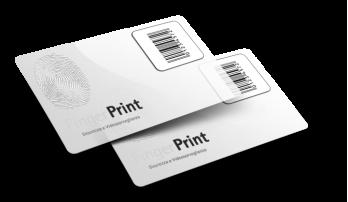 Cartes PVC Transparentes avec Code-Barres + Numérotation