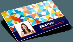 Card società con nomi e cognomi, numeri e foto