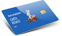 Gift card con chip