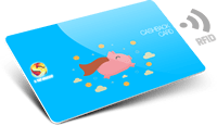 Tessere cashback con RFID