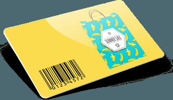 Tessere fedeltà con codice a barre