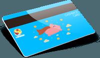 Tessere cashback con banda magnetica